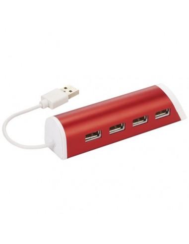 Hub con 4 puertos USB y soporte de...