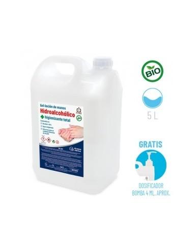 Garrafa de gel hidroalcohólico de 5L