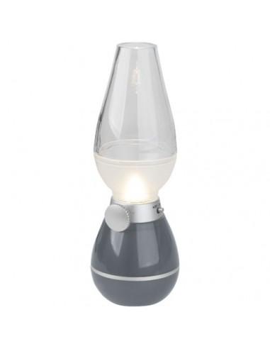 Lámpara quinqué con sensor de aire...