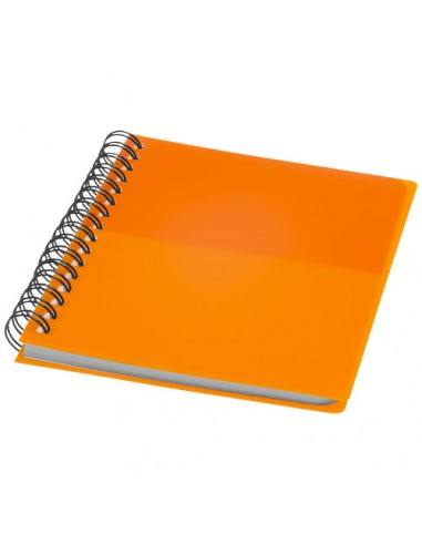 "Libreta A6 con espiral ""Colour-Block"""