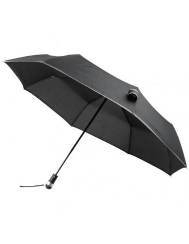 Paraguas automático plegable con LED...